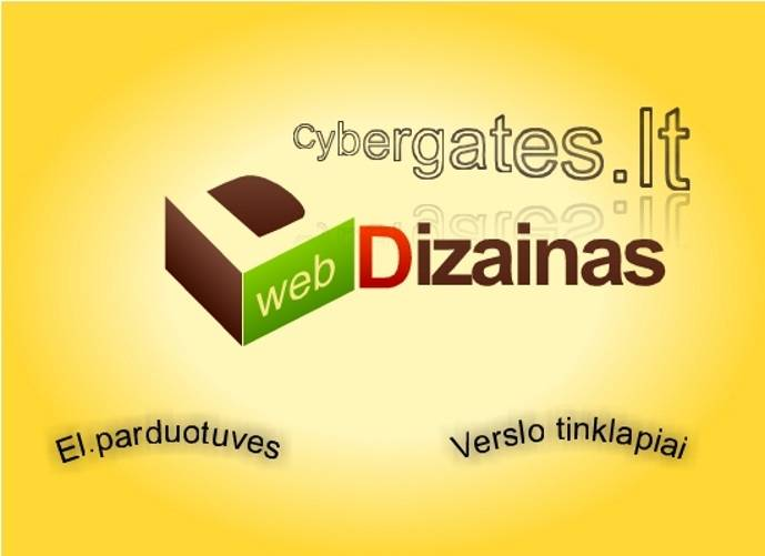 Internetinių svetainių, el.parduotuvių kūrimas. web sprendimai