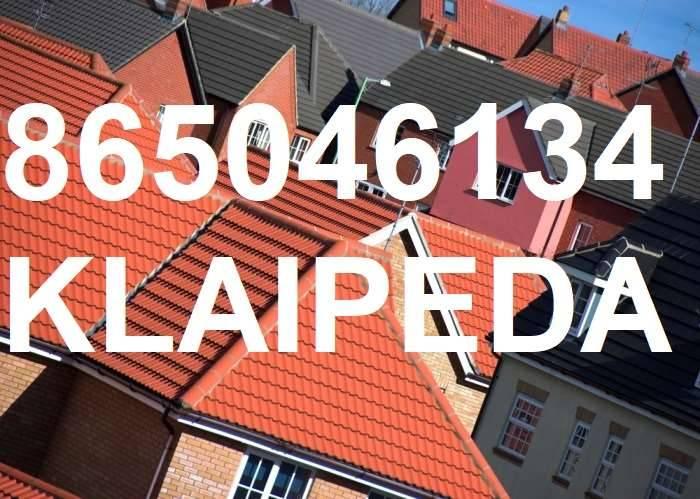 Šlaitinių stogu dengimas, renovacija, stogdengiai Klaipėdoje