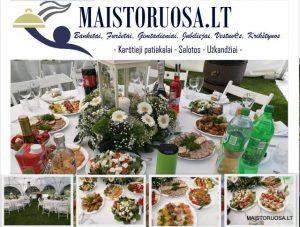 Maistas banketams, furšetams, vestuvėms