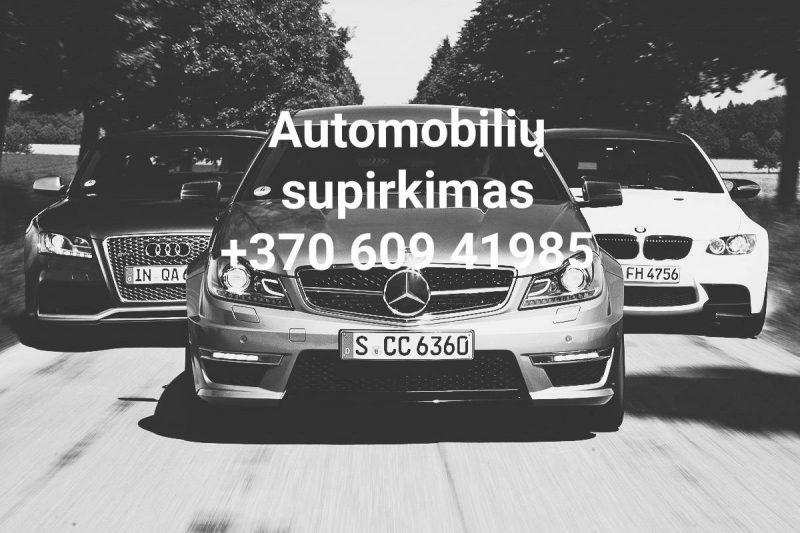Auto supirkimas Klaipėdoje ir visoje Lietuvoje