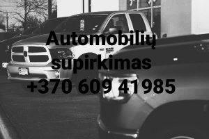 Automobilių supirkimas visoje LIetuvoje