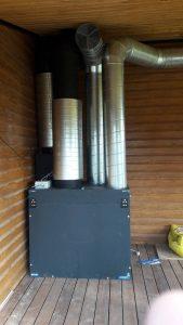 Namų ir patalpų vėdinimo sistemos, montavimas, pardavimas